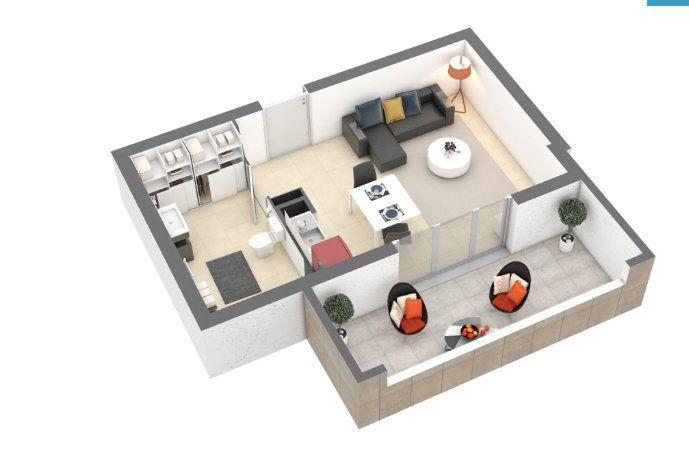 Appartement à vendre 1 30m2 à Nîmes vignette-1