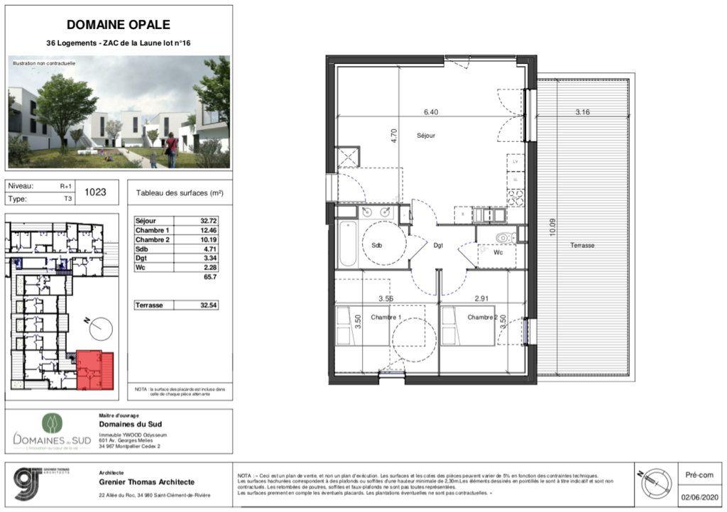 Appartement à vendre 3 65.7m2 à Marsillargues vignette-4