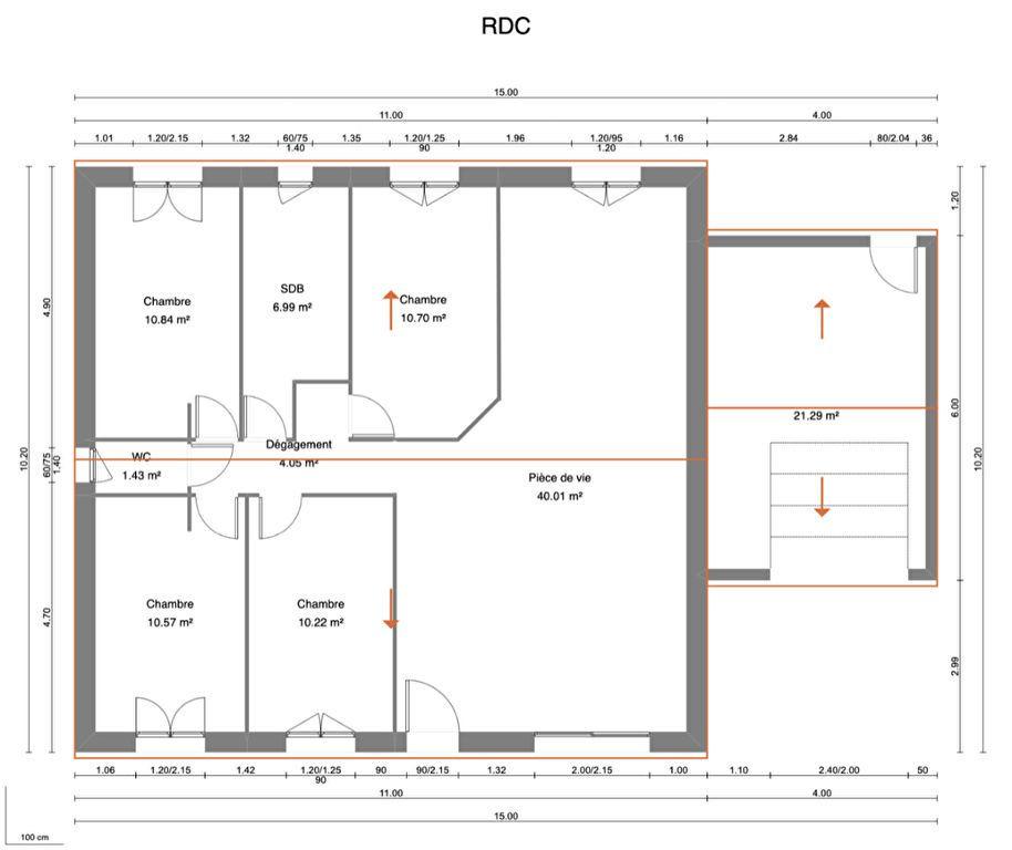 Maison à vendre 5 95m2 à Saint-Gilles vignette-3