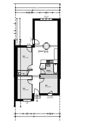 Maison à vendre 3 76.29m2 à Baillargues vignette-2