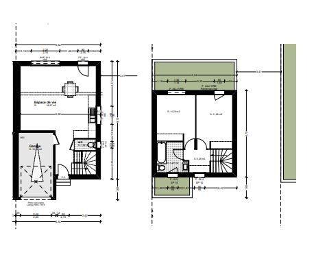Maison à vendre 3 71.38m2 à Baillargues vignette-2