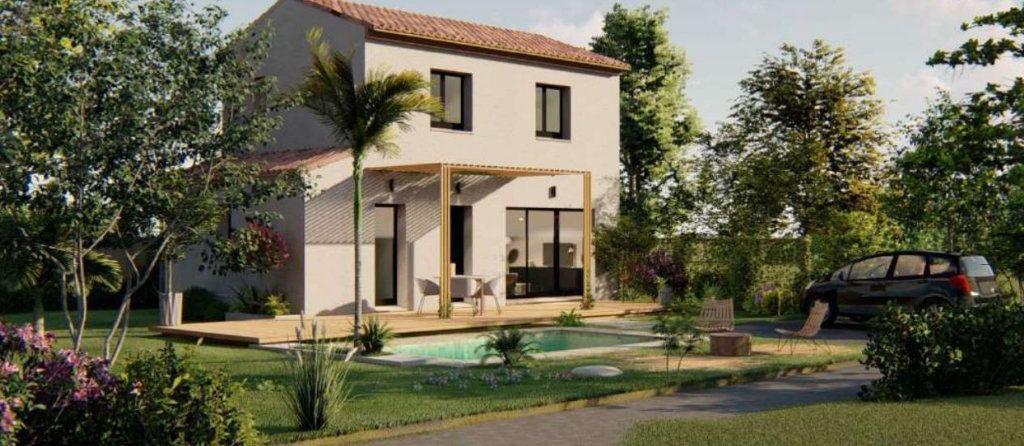 Maison à vendre 4 83m2 à Vauvert vignette-1