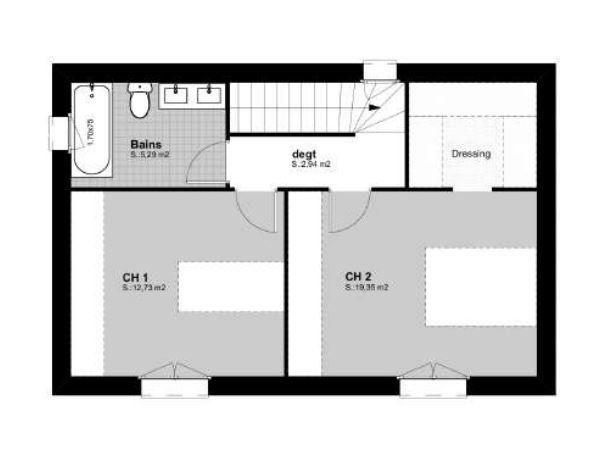 Maison à vendre 4 83m2 à Vauvert vignette-3