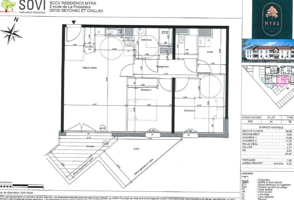 Appartement à vendre 3 67.47m2 à Biscarrosse vignette-2