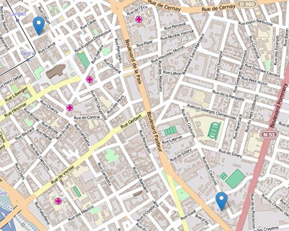 Appartement à louer 1 31m2 à Reims vignette-5