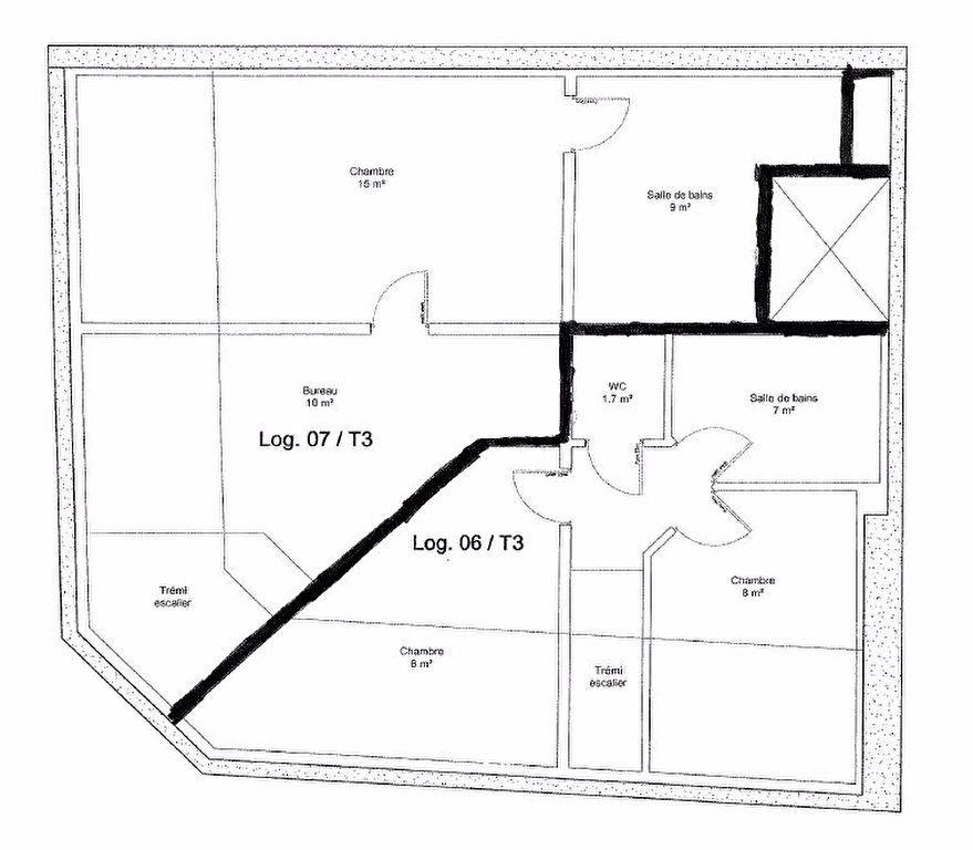 Appartement à louer 3 54m2 à Reims vignette-6