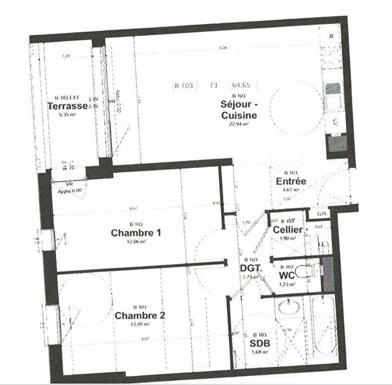 Appartement à louer 3 64.65m2 à Reims vignette-2