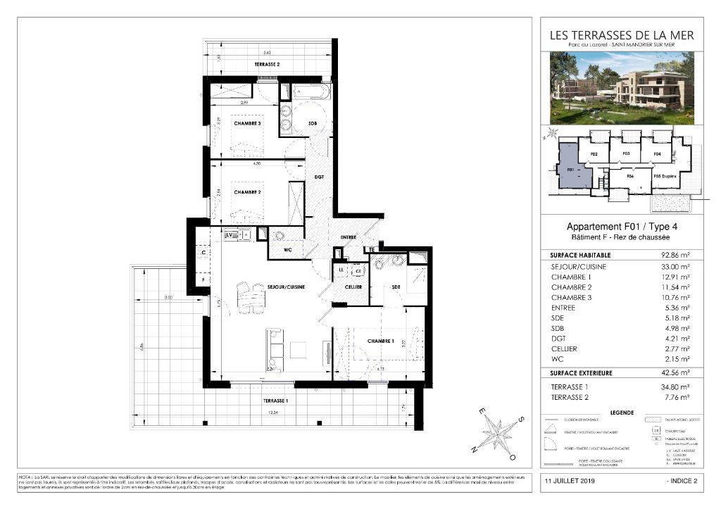 Appartement à vendre 4 93.79m2 à Saint-Mandrier-sur-Mer vignette-3