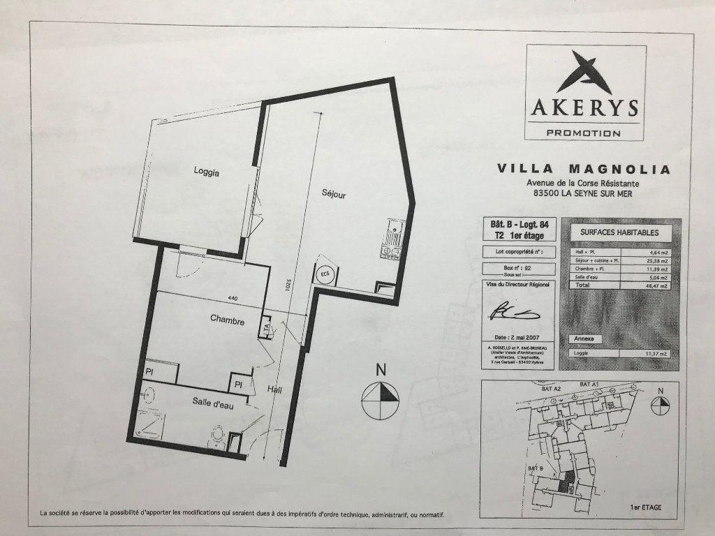 Appartement à vendre 2 47m2 à La Seyne-sur-Mer vignette-2