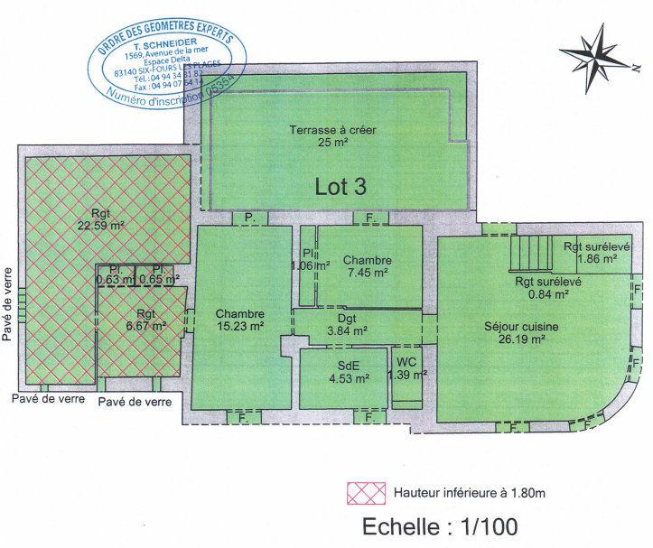 Appartement à vendre 4 82m2 à Sanary-sur-Mer vignette-7