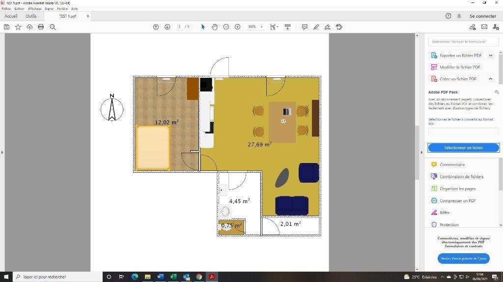 Appartement à louer 2 48.83m2 à Toulon vignette-8