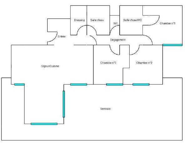 Appartement à vendre 4 119.01m2 à Mandelieu-la-Napoule plan-1