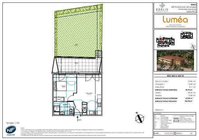 Appartement à vendre 40.9m2 à Mandelieu-la-Napoule