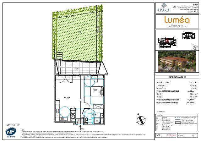 Appartement à vendre 46.24m2 à Mandelieu-la-Napoule