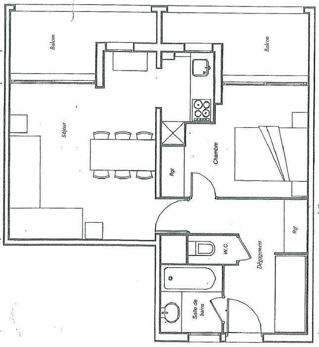 Appartement à vendre 2 39.75m2 à Mandelieu-la-Napoule plan-1