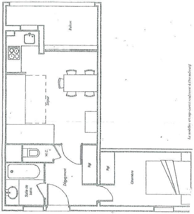 Appartement à vendre 2 32.38m2 à Mandelieu-la-Napoule plan-1