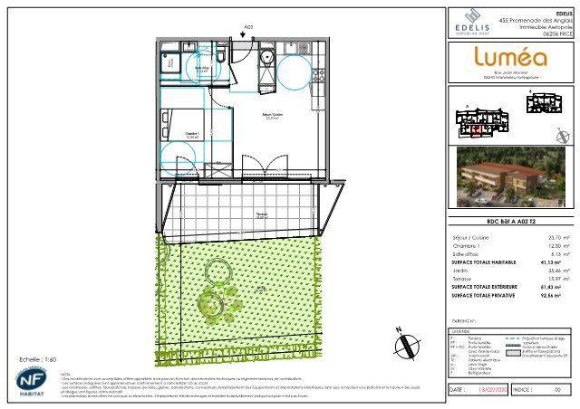 Appartement à vendre 2 41.13m2 à Mandelieu-la-Napoule vignette-4