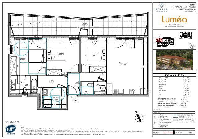 Appartement à vendre 4 87.13m2 à Mandelieu-la-Napoule vignette-5