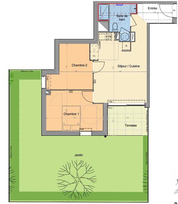 Appartement à vendre 3 52.07m2 à Mandelieu-la-Napoule vignette-2