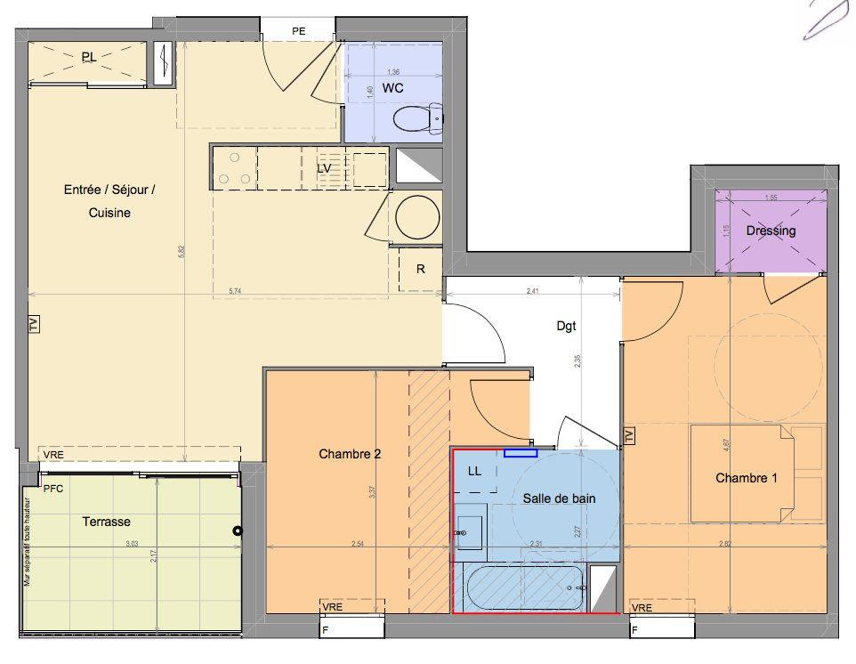 Appartement à vendre 3 65.66m2 à Mandelieu-la-Napoule vignette-2