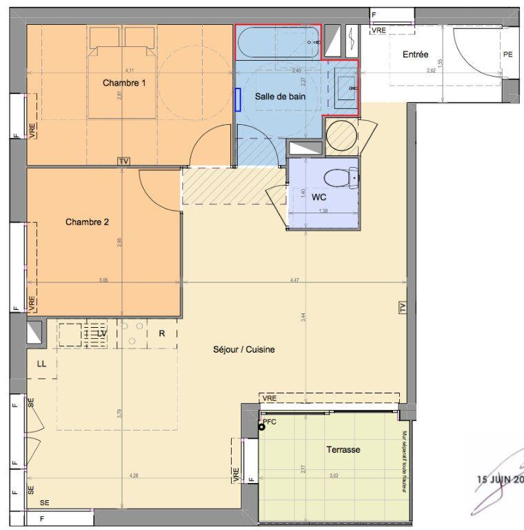 Appartement à vendre 3 66.97m2 à Mandelieu-la-Napoule vignette-2