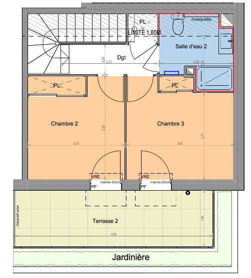 Appartement à vendre 4 86.35m2 à Mandelieu-la-Napoule vignette-3