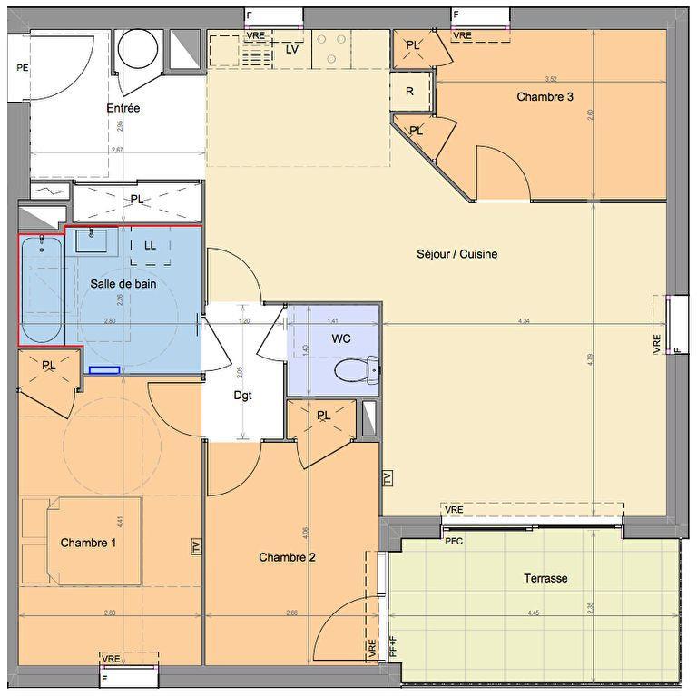 Appartement à vendre 4 82.55m2 à Mandelieu-la-Napoule vignette-2