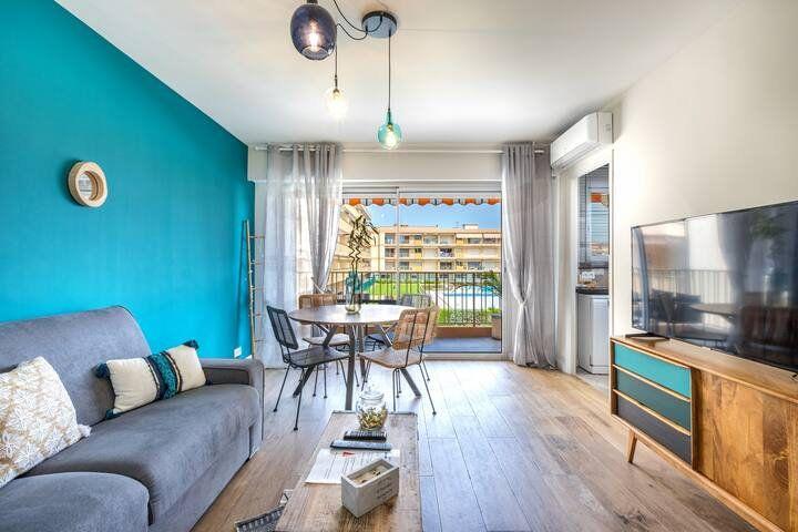 Appartement à vendre 2 43.66m2 à Mandelieu-la-Napoule vignette-2