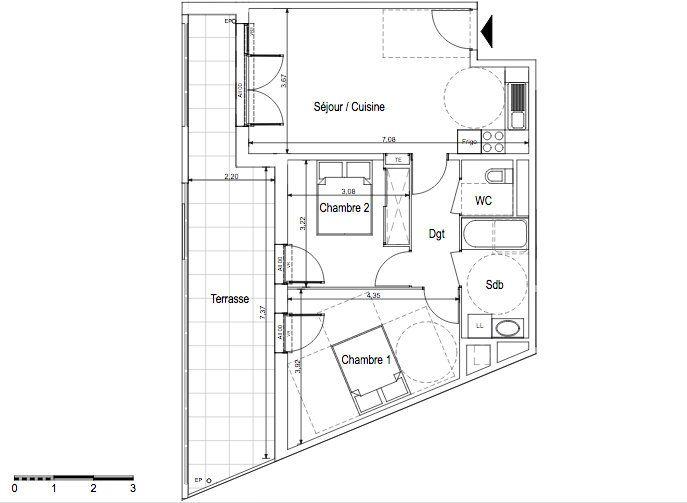 Appartement à vendre 3 59m2 à Aix-en-Provence vignette-3
