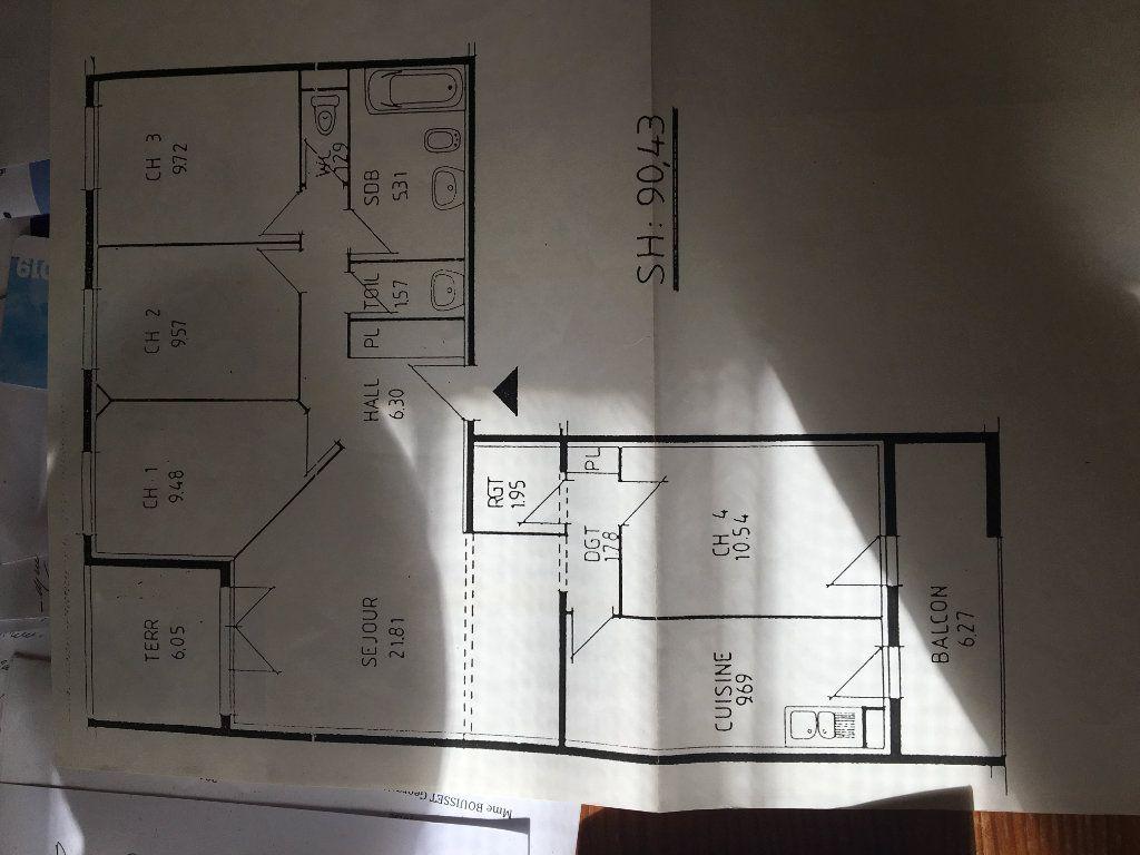 Appartement à vendre 4 90.92m2 à Castres plan-2