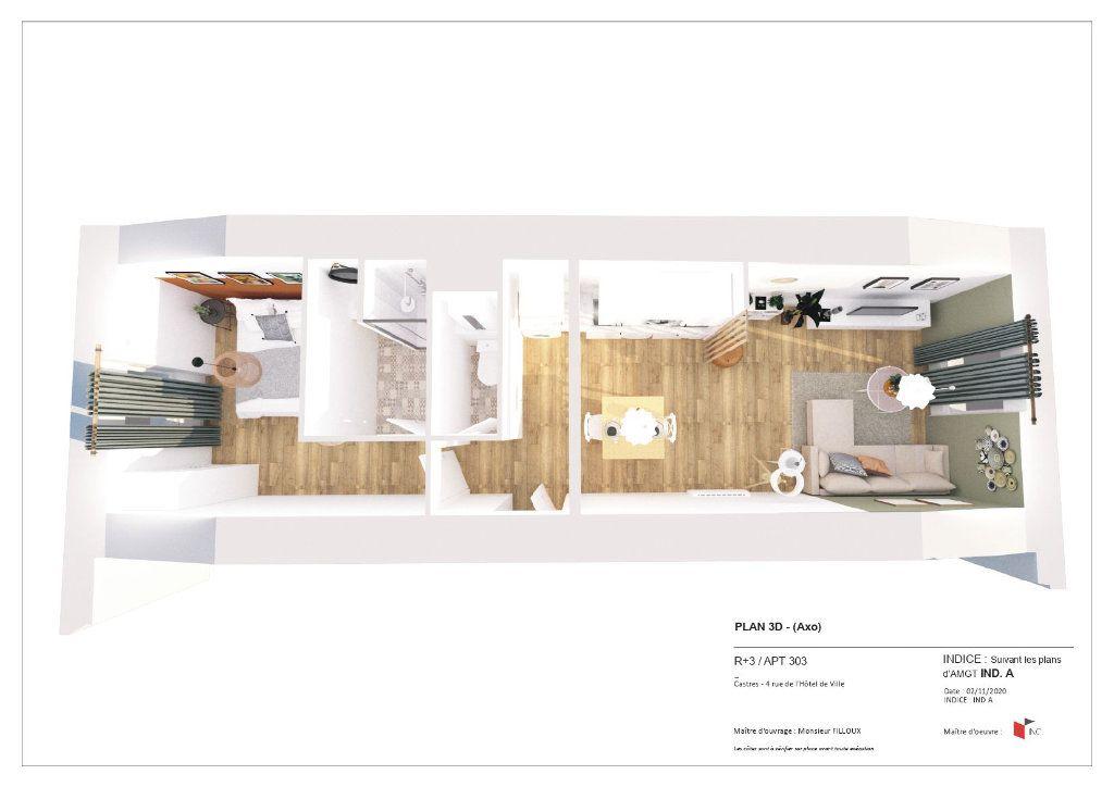Appartement à louer 2 36m2 à Castres vignette-1