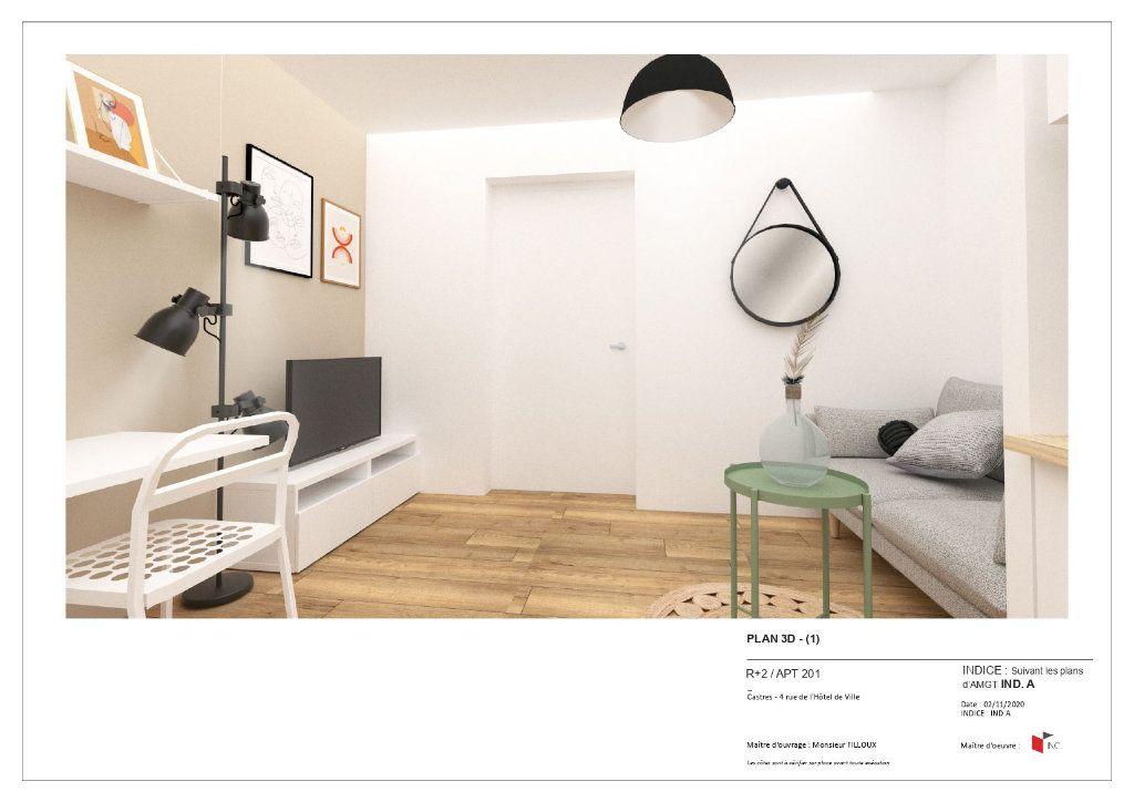 Appartement à louer 1 25m2 à Castres vignette-1