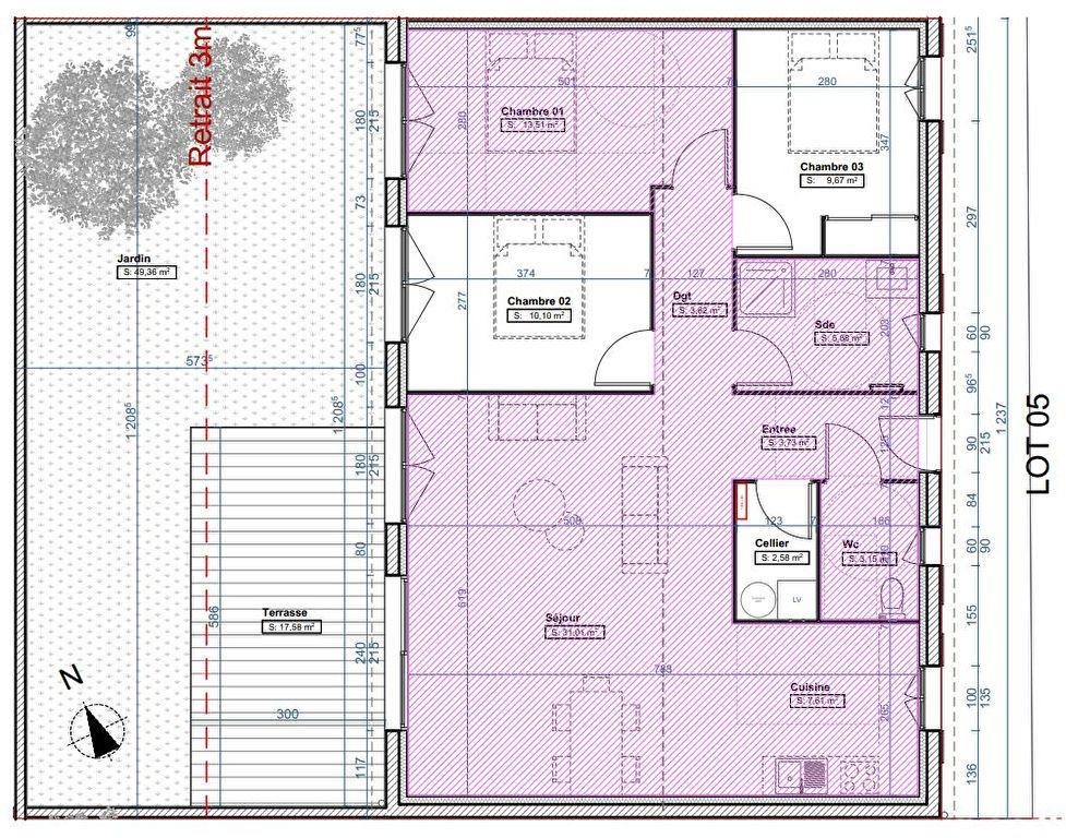 Maison à vendre 4 90.86m2 à Fouras vignette-1