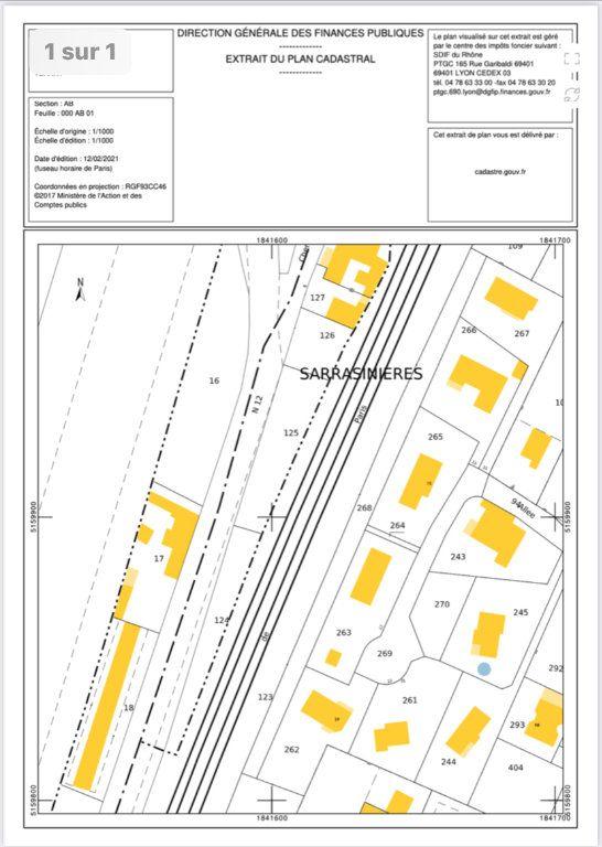 Terrain à vendre 0 3558m2 à Ternay vignette-1