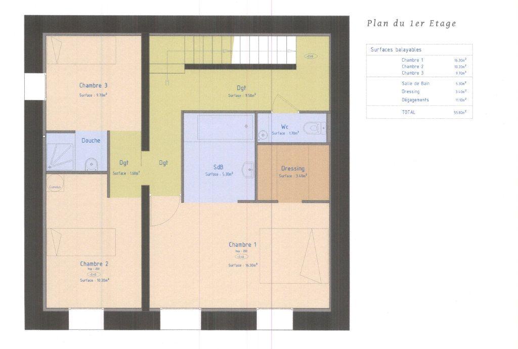 Maison à vendre 5 160m2 à Marseille 8 plan-2
