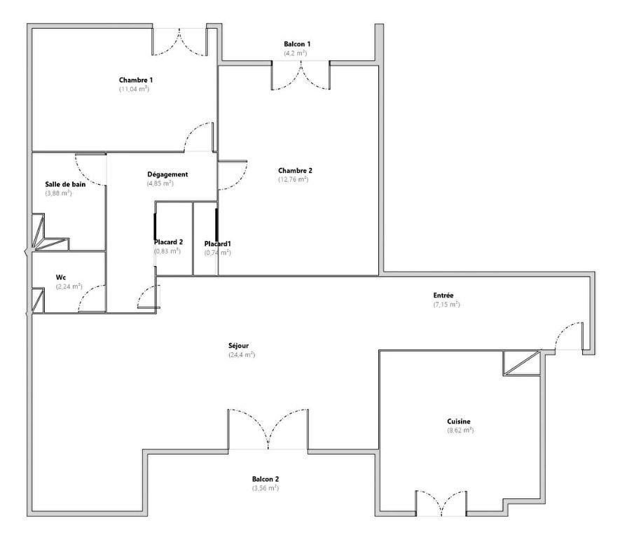 Appartement à vendre 4 76m2 à Marseille 10 vignette-9