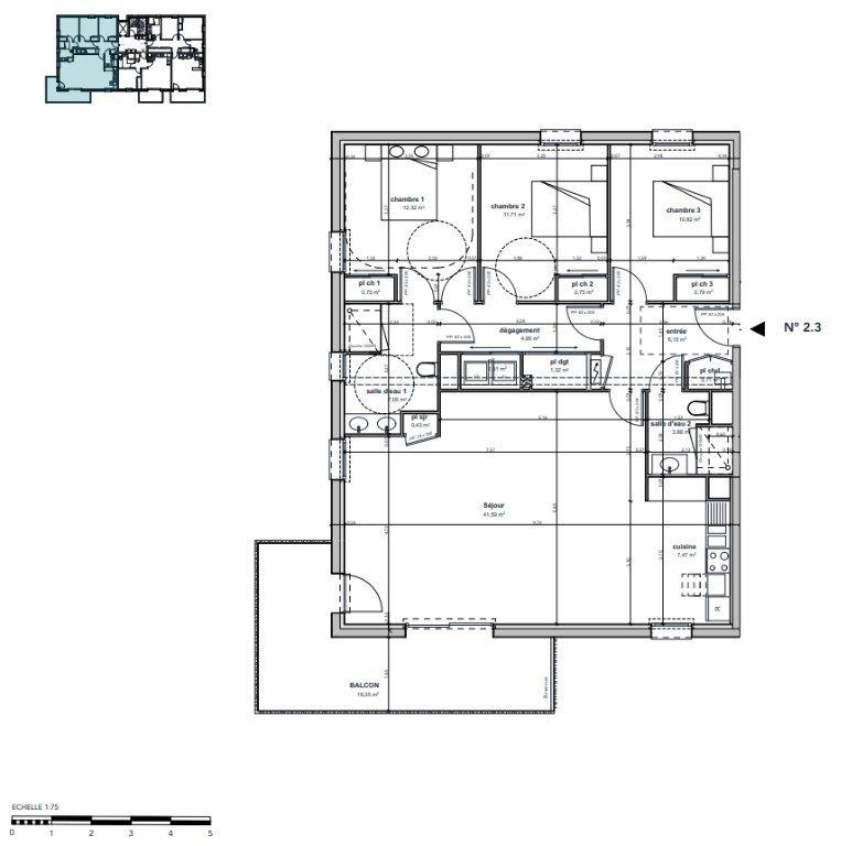 Appartement à vendre 4 111.9m2 à Argentan vignette-3