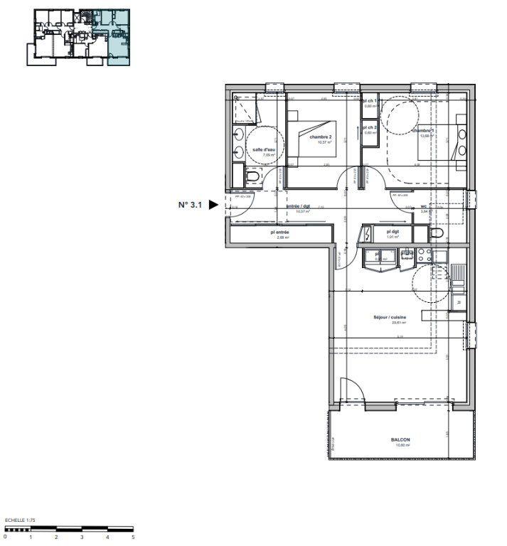 Appartement à vendre 3 81.38m2 à Argentan vignette-3