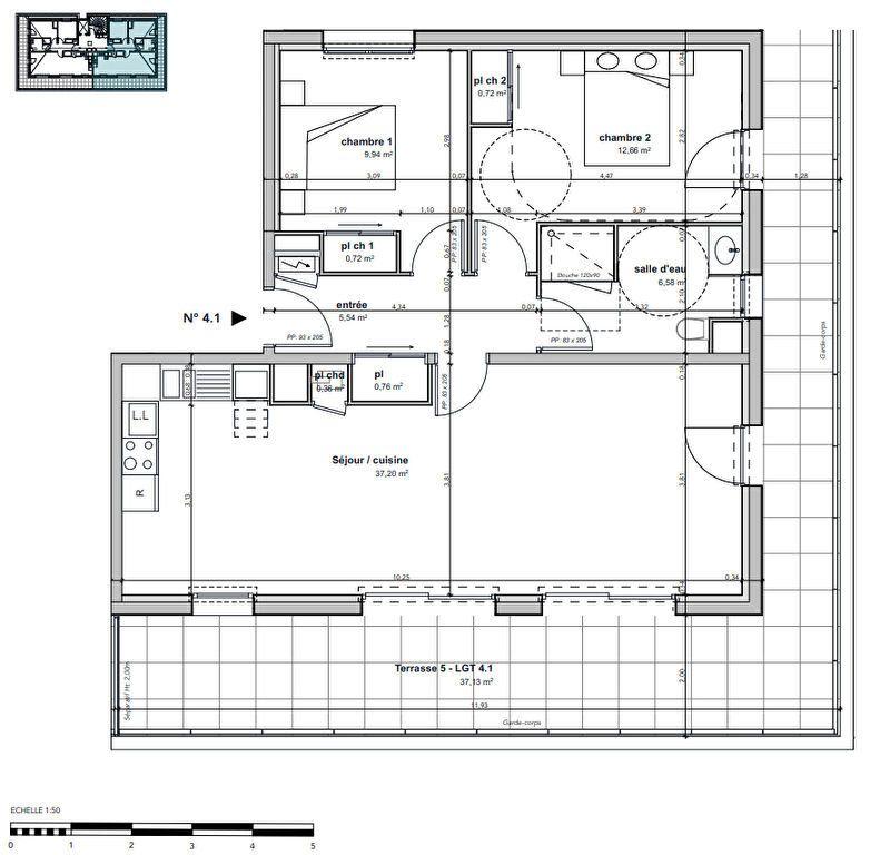Appartement à vendre 3 74.48m2 à Argentan vignette-3