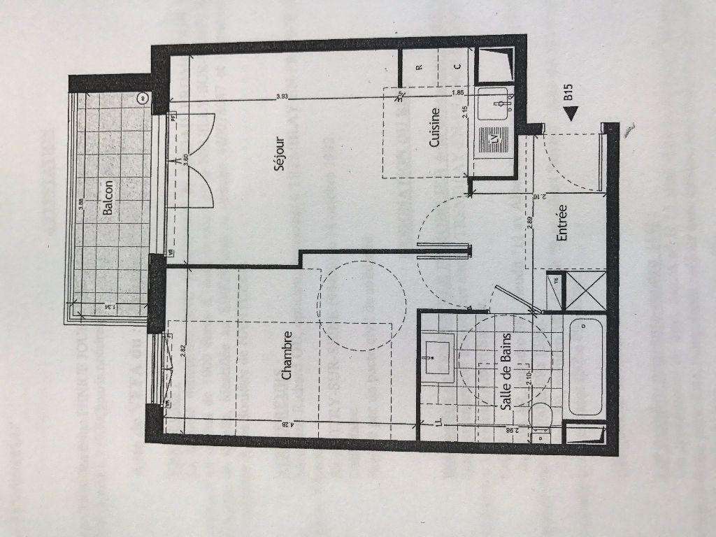 Appartement à louer 2 43.84m2 à Tremblay-en-France vignette-6