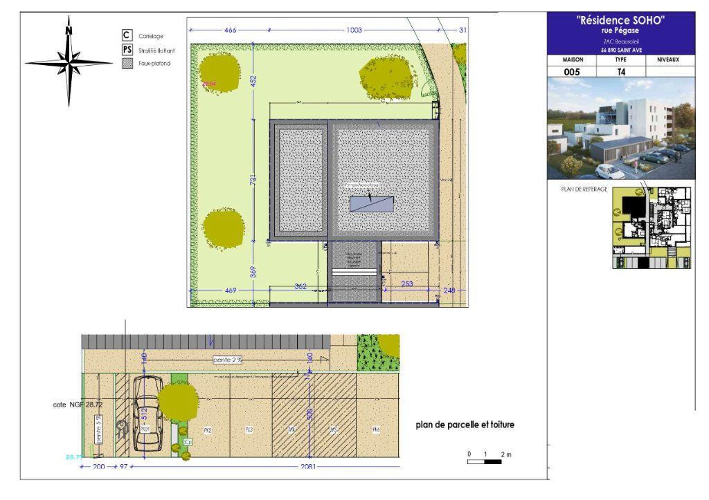 Maison à vendre 4 91.25m2 à Saint-Avé vignette-1