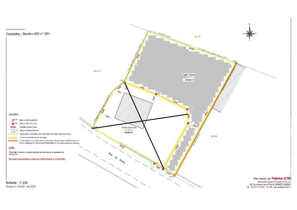 Terrain à vendre 0 500m2 à Vannes vignette-3