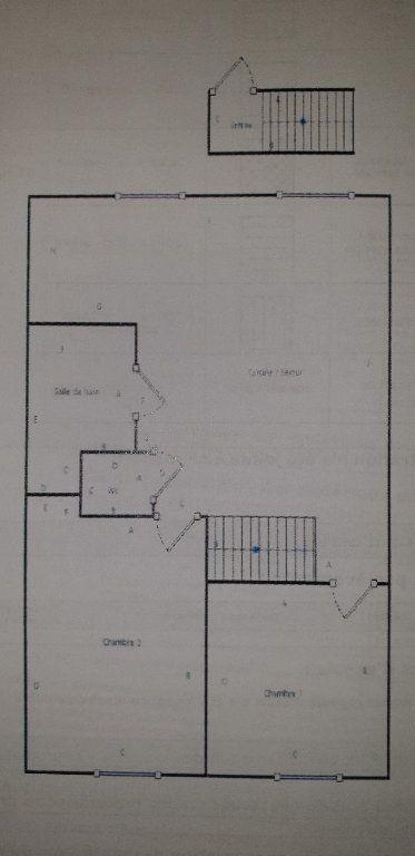 Appartement à louer 3 47m2 à Raismes plan-1
