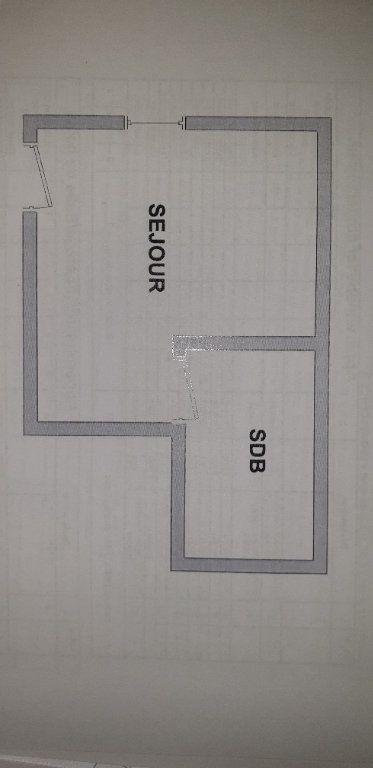 Appartement à louer 1 16.7m2 à Valenciennes plan-1