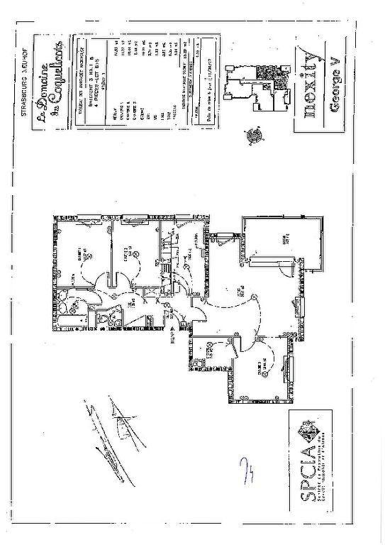 Appartement à vendre 4 83m2 à Strasbourg plan-1