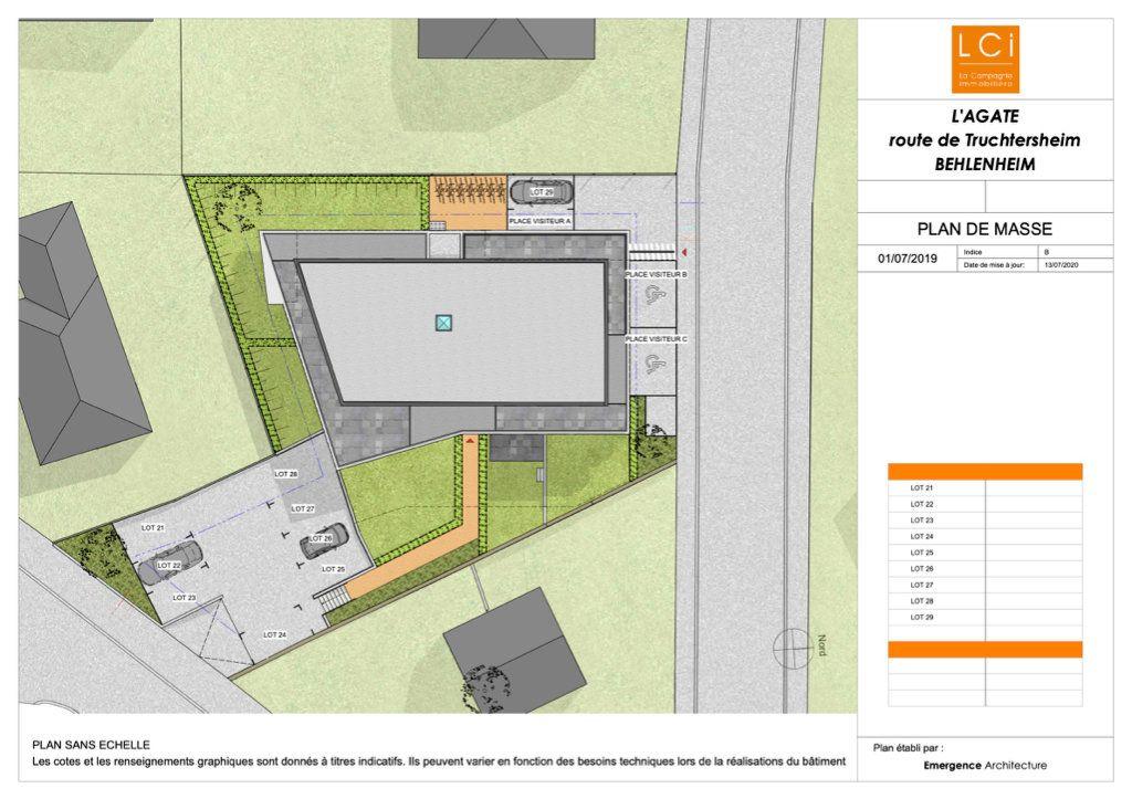Appartement à vendre 3 65.11m2 à Truchtersheim plan-2