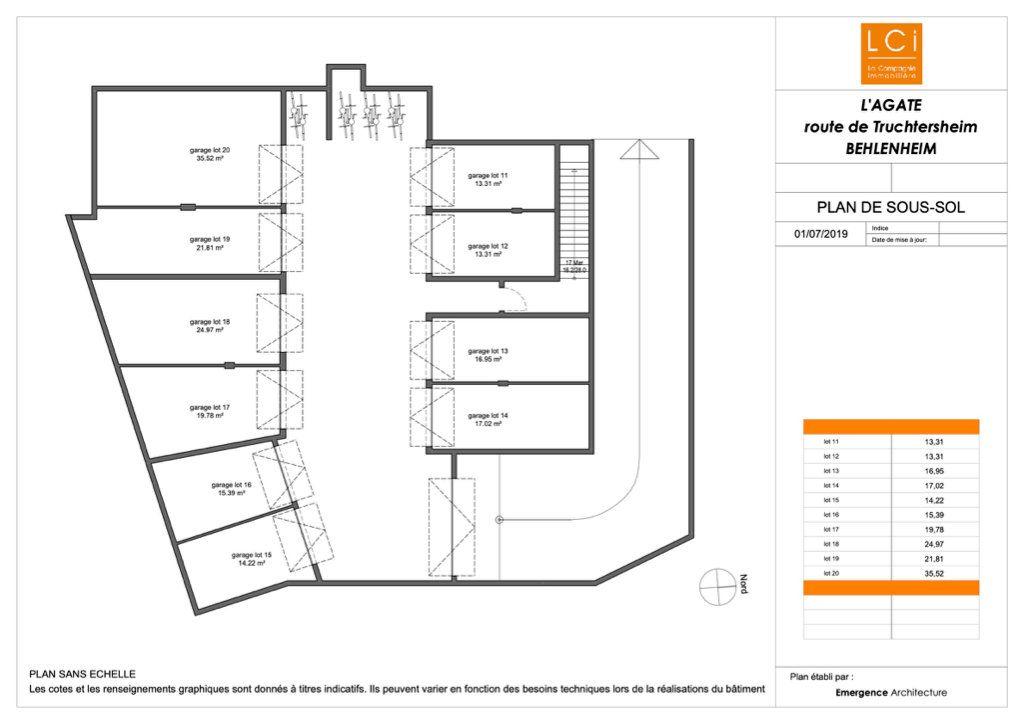 Appartement à vendre 3 65.11m2 à Truchtersheim plan-3