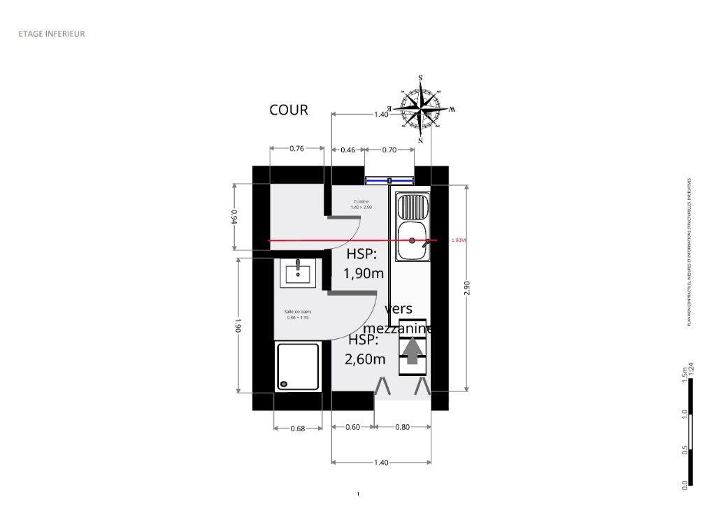 Appartement à vendre 1 4.27m2 à Paris 8 vignette-9