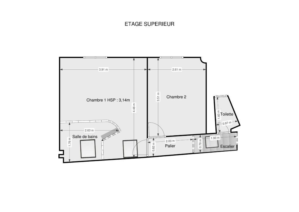 Appartement à louer 3 66.35m2 à Paris 7 vignette-14