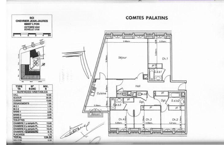 Appartement à vendre 6 120m2 à Lyon 7 vignette-4